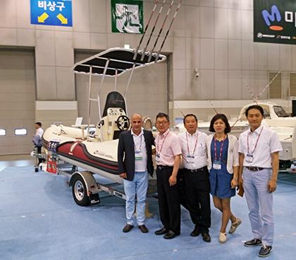 Alessandro Marchi in Korea with Hyundai Seasall